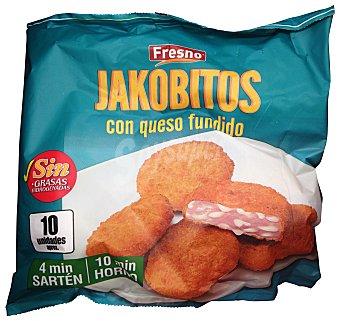 Fresno Jakobitos con queso fundido congelados Paquete 325gr