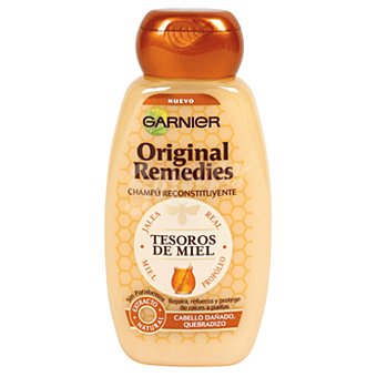 ORIGINAL REMEDIES Champú tesoros de miel Frasco 250 ml
