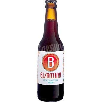 BIZANTINA Cerveza negra artesana Botella 33 cl