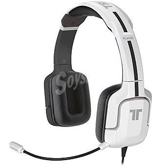 TRITTON KUNAI Auriculares + micrófono con cable en color blanco para PS3/PS4 1 unidad