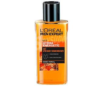 L'Oréal After shave con acción hidratante, para todo tipo de pieles l´oréal Hydra energetic 125 ml