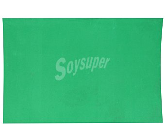 APLI Plancha de foam, goma eva de color verde y dimensiones 400x600x 2 milímetros 1 unidad