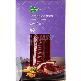 El Corte Inglés Jamon curado de pato en lonchas sobre 100 g Sobre 100 g