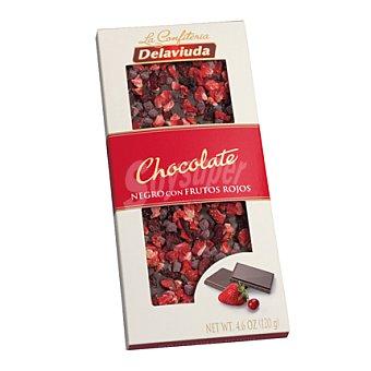Delaviuda Chocolate negro con frutos rojos Tableta 120 g
