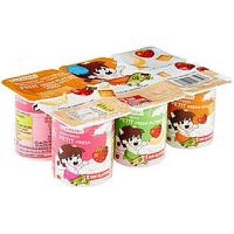 Eroski Petit fruit mix Pack 6x55 g