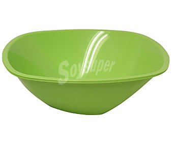 Nv corporacion Ensaladera desechable color verde, 300 centilitros Paquete de 3 Unidades
