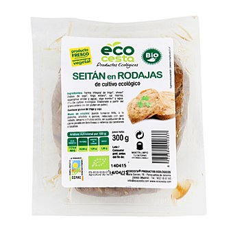 Ecocesta Seitan en rodajas bio 300 g