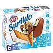 Surtido de helados sin azúcares añadidos 6 ud Casty
