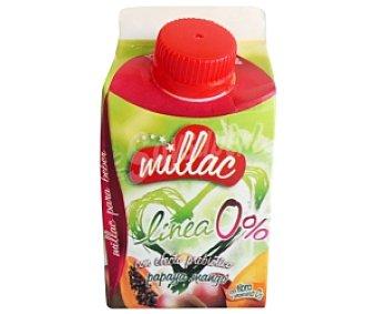 Millac Yogur Desnatado Líquido Papaya-Mango 200 Mililitros