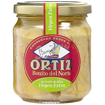 Ortiz El Velero Bonito del norte en aceite de oliva virgen  Frasco 140 g neto escurrido