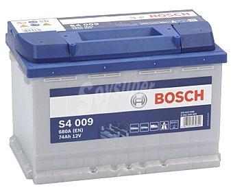 Bosch Batería de coche 12V y 74 AH S4009