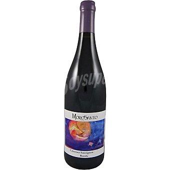 MOROSANTO Vino tinto cabernet sauvignon 100% Ronda Málaga Botella 75 cl