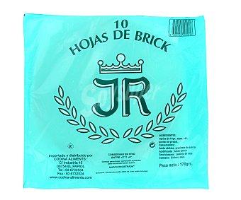 J.R. Masa brick refrigerada Estuche 170 g