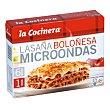 Microondas lasaña a la boloñesa Estuche 300 g La Cocinera
