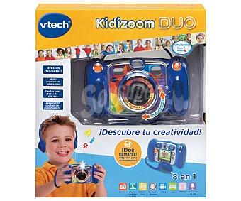 VTECH Kidizoom Duo Cámara de fotos y vídeo infantil Kidizoom Duo con 8 funciones, VTECH.