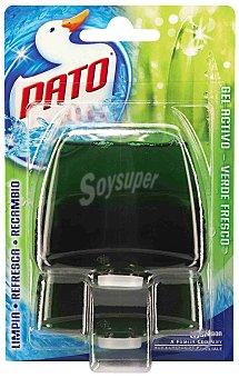 Pato Desinfectante WC gel triple acción verde fresco recambio 2 unidades