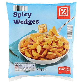 DIA Patatas fritas congeladas gajo Bolsa 600 gr