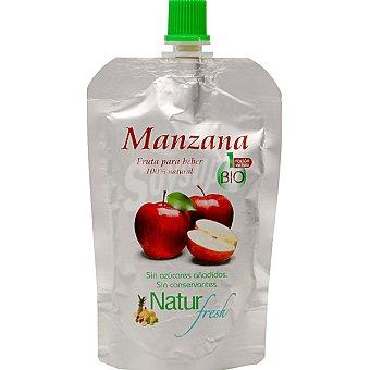 NATUR FRESH Manzana fruta para beber 100% natural sin azúcares añadidos ecológico Envase 100 g