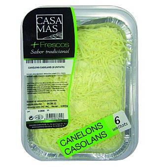 Casa Mas Canelones caseros 6UN 700 G