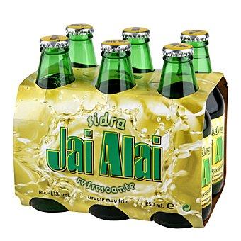 Jai-Alai Sidra Pack de 6 botellines de 25 cl