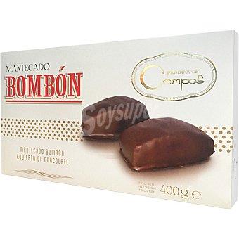 Campos Mantecados bombon recubiertos de chocolate Estuche 400 g