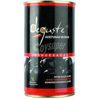 DEGUSTE Aceitunas negras sin hueso lata 150 g