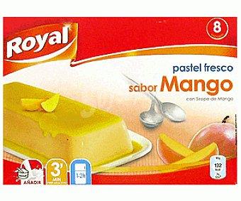 Royal Pastel fresco sabor mango 105 g