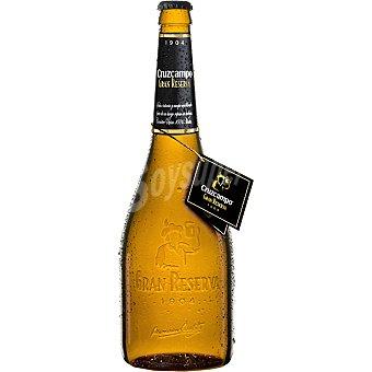 Cruzcampo Gran Reserva Reserva cerveza especial Botella 75 cl