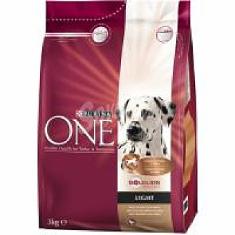 Purina One Alimento light de pavo-arroz 3 kg