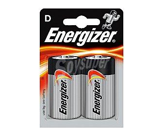 Energizer Pilas alcalinas D/LR20 1,5V 2 unidades