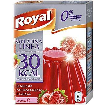 Royal Gelatina sabor fresa Línea 0% materia grasa 10 raciones Paquete 84 g
