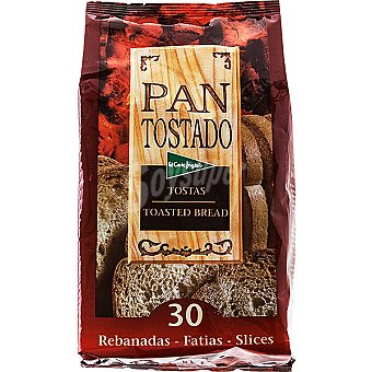 El Corte Inglés pan tostado 30 rebanadas Paquete 270 g