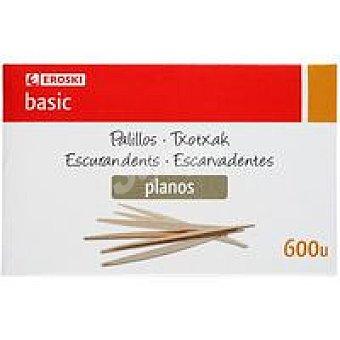 Eroski Palillo plano Caja 600 unid