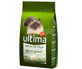 Ultima Affinity Comida completa para gatos adultos control bolas de pelo 1,5 kilogramos