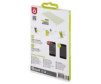 Muvit tempered glass Protector de pantalla para iphone 6 muvit, vidrio templado, ultra resistente, anti huellas, 6 protector panta