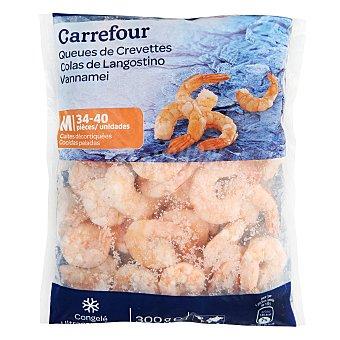 Carrefour Colas de langostino cocidas 300 g