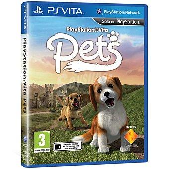PS VITA Videojuego Pets  1 Unidad