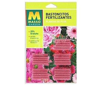 MASSÓ Garden Fertilizante en varitas para plantas en flor, apto para plantas tanto de interior como de exterior 20 unidades