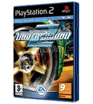 Sony Juego PS2 nfs undergraun 2 vg Unidad