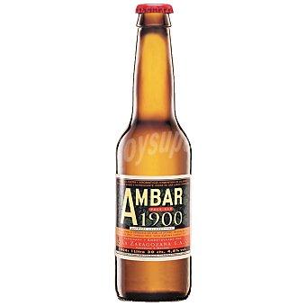 Ambar Cerveza rubia 1900 Botellín 33 cl