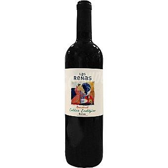 Las Reñas Vino tinto monastrel ecologico D.O. Bullas Botella 75 cl