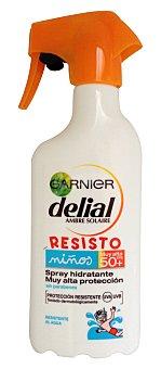 Delial Garnier Spray Solar Niños, Resistente al Agua. Factor de Protección 50 300 Mililitros
