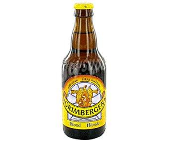 Grimbergen Cerveza Belga de Importación Blonde 33 cl