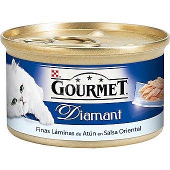 Gourmet Comida para gatos con Atun Y Gambas 85 gr