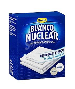 Iberia Detergente prendas delicadas en polvo blanco nuclear Caja 6 sobres