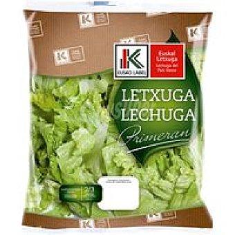Eusko label primeran Lechuga del País Vasco Bolsa 140 g