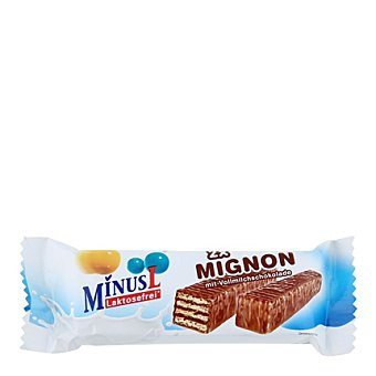 Minus l Barritas de Galleta Chocolate Sin Lactosa Pack de 2x30 g