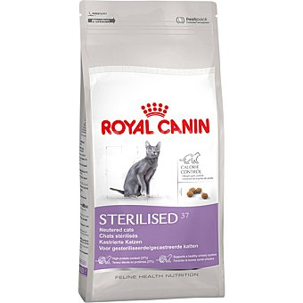 ROYAL CANIN STERILISED 37 Alimento especial para gato esterilizado con tendencia al sobrepeso bolsa 4 kg Bolsa 4 kg