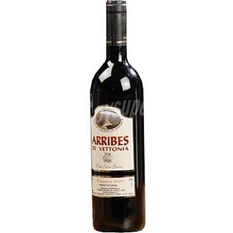ARRIBES DE VETTONIA Vino tinto crianza Botella 75 cl