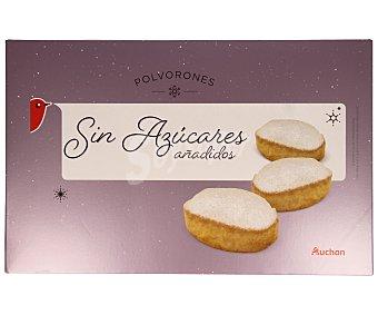 Auchan Polvorones sin azucares añadidos 350 gramos